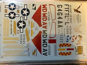 cutting Edge 1/48 P-51D mustang CED48113  353 FS 362FS& 82 TRS