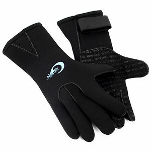 3mm-Neoprene-Wetsuit-Gloves-Kayak-Diving-Swimming-Surfing-Gloves-Adult-Size