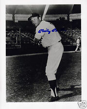 MICKEY MANTLE AUTOGRAPH SIGNED PP PHOTO POSTER
