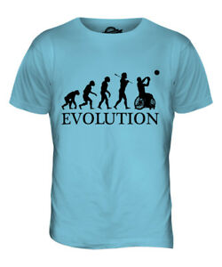 0eb0a556b90d WHEELCHAIR BASKETBALL EVOLUTION OF MAN MENS T-SHIRT TEE TOP GIFT | eBay