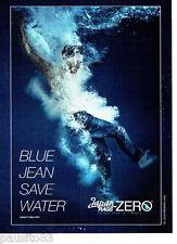 PUBLICITE ADVERTISING 066  2011  Japan rags  jeans Zero