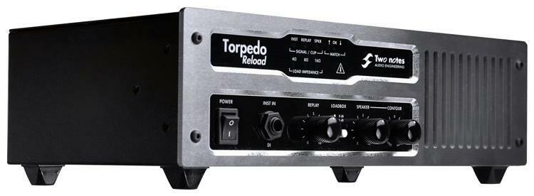 Two Notes Torpedo Reload Amp Attenuator Reamping Tool Load DI Box