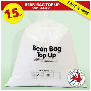 bean bag refill bean bag refill polystyrene beans filling top up 10783