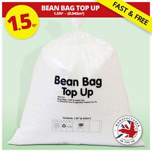 Bean Bag Refill Polystyrene Beans Filling Top Up