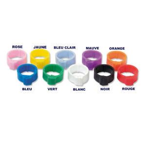 10 Bagues Plastique à Clips 8mm Pour Pigeons Oiseaux Sghdhast-10043037-992106545