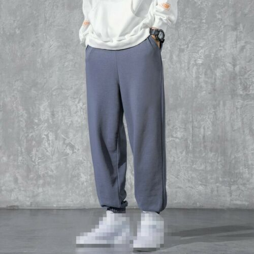 Mens Outdoor Pants Slacks Sweatpants Jogging Hip Hop Loose Fit Comfort Trouser B
