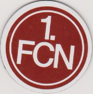 Magnet-Pin - Wappen 1.FC Nürnberg