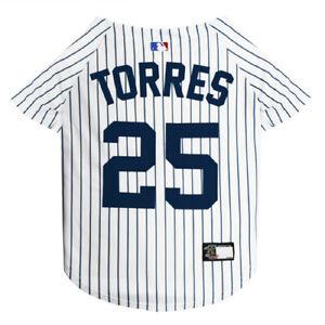 GLEYBER-TORRES-25-Yankees-MLBPA-Officially-Licensed-Pinstripe-Dog-Jersey