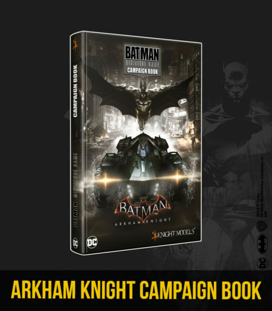 KNIGHT MODELS ARKHAM KNIGHT CAMPAIGN BOOK NEW
