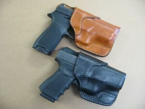 Azula-Leather-Seated-Cross-Draw-Handgun-Holster-CCW-For-Choose-Gun-amp-Color-A