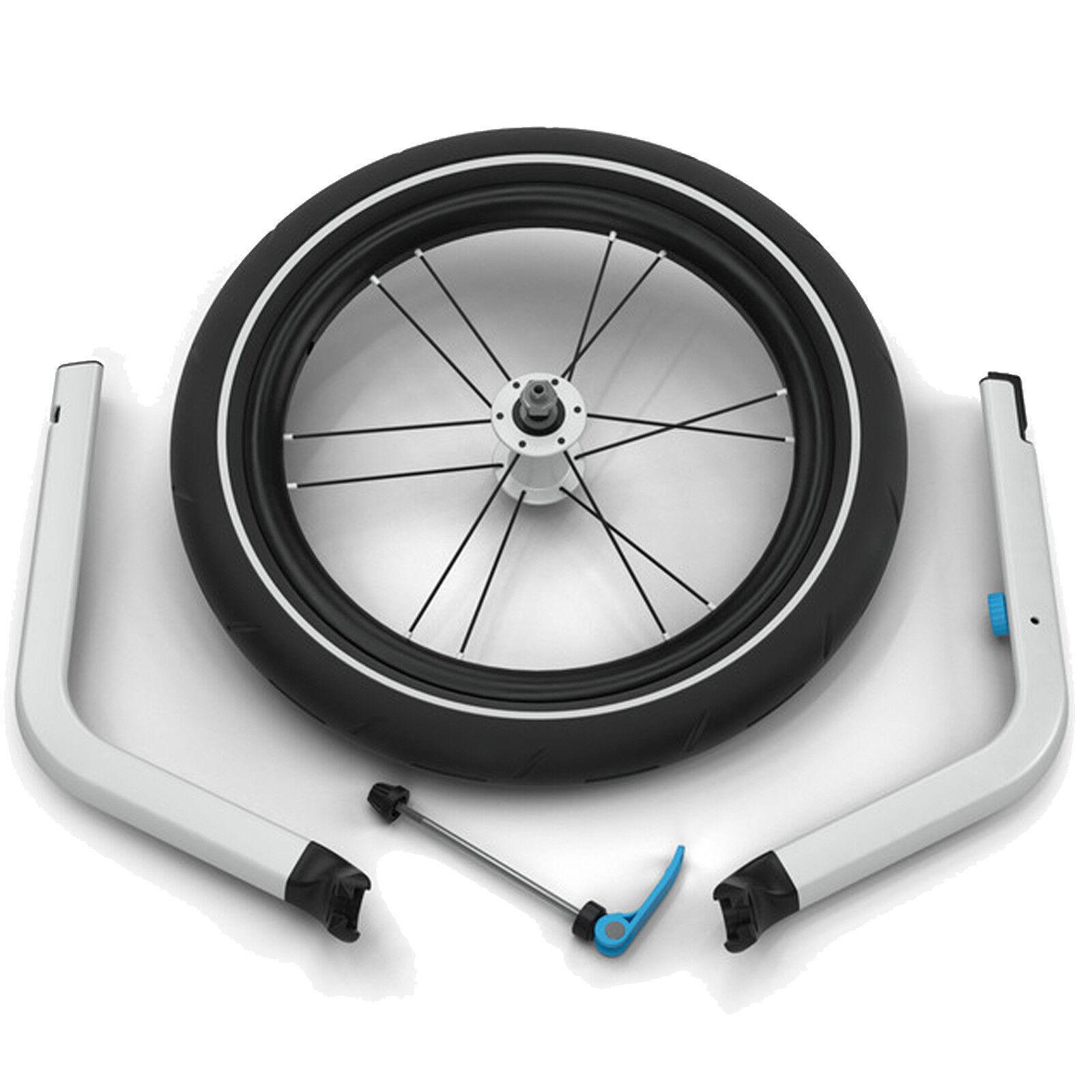 Thule Chariot Jogging Kit Fahrradanhängerzubehör Bici senza Pedali Corsa Ruota
