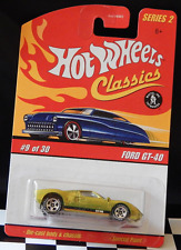 Ford GT-40 (Yellow) Hot Wheels Classics Series 2 9/30 Free Ship See in Details!