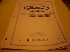 Drawer 14 Brillion Landcommander Repair Parts Catalog Lcs 3301 5241 5301 More