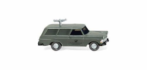 1//87 Wiking Opel Rekord Caravan telecomunicaciones servicio 0071 48