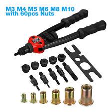 13 Rivet Gun Kit Rivnut Thread Setting Tool Nut Setter Nutsert Metric Sae