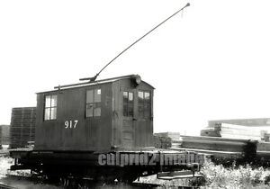 OR WA Pacific NW BW PHOTO Center Cab Electric Pole Loco