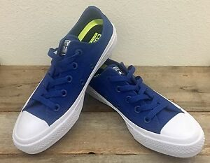 b988e08a84a231 Converse Boys size 4 Chuck Taylor All Star II Sneakers Sodalite Blue ...