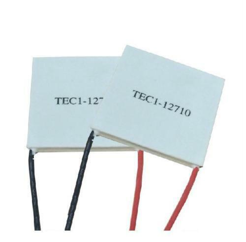 5 Pcs TEC1-12710 Heatsink Thermoelectric Cooler Cooling Peltier Plate Module