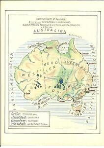 Bella-collezione-Australia-1913-1967-timbrato-voluminosi