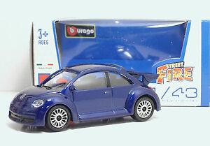 Bburago-30000-Volkswagen-New-Beetle-S-METAL-Scala-1-43