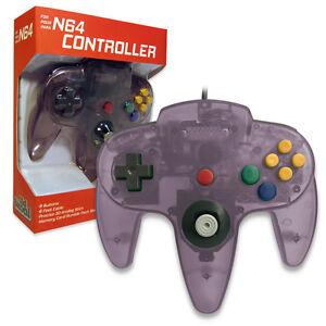 nintendo 64 controller atomic purple n64 *old skool* new in box
