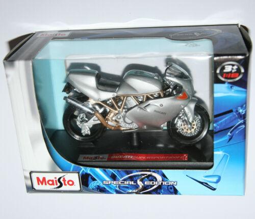 Model Scale 1:18 DUCATI SUPERSPORT 900FE Motorbike Maisto