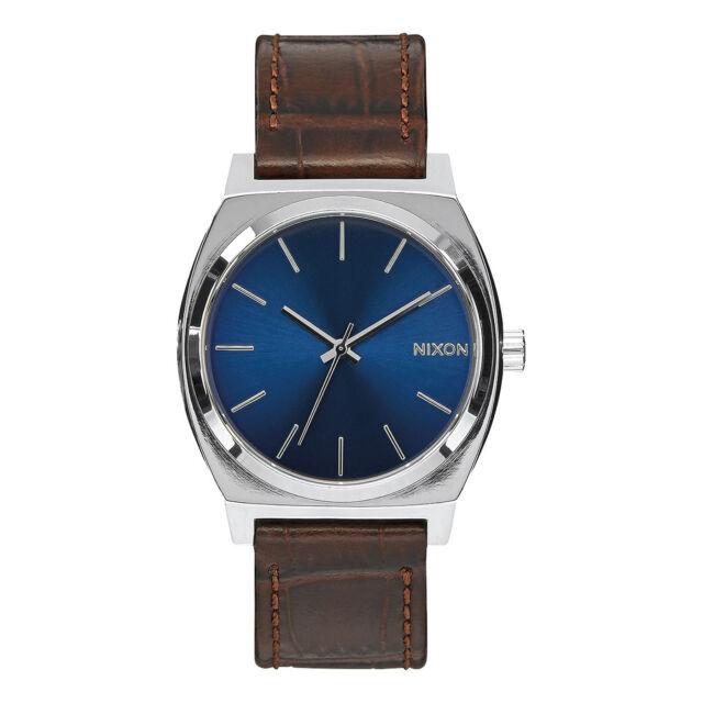 Nixon Reloj Time Teller Brown Gator 37MM