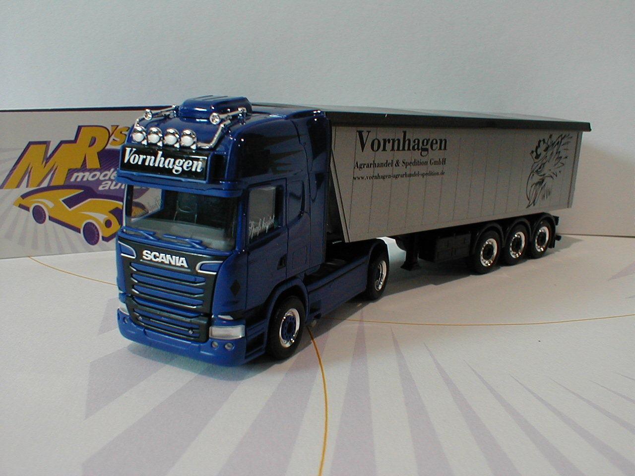 entrega rápida Herpa 930710-Scania 930710-Scania 930710-Scania R 13 remolCochese camiones  vornhagen comercio agrícola  1 87 nuevo     grandes precios de descuento