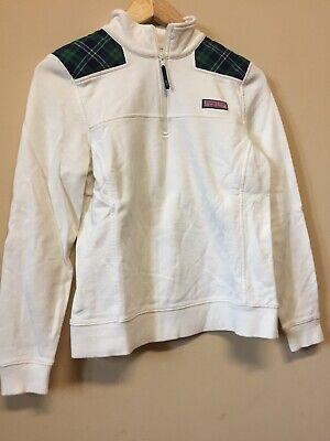 Vineyard Vines Women/'s 1//4 zip  Sweater Pullover $148.00 in Nautical Navy