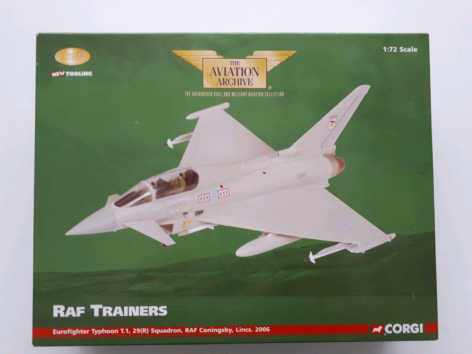 RAF Trainer Eurofighter Typhoon T.1, 29 (R) Sqd., RAF Coningsby, Lincs. AA36402