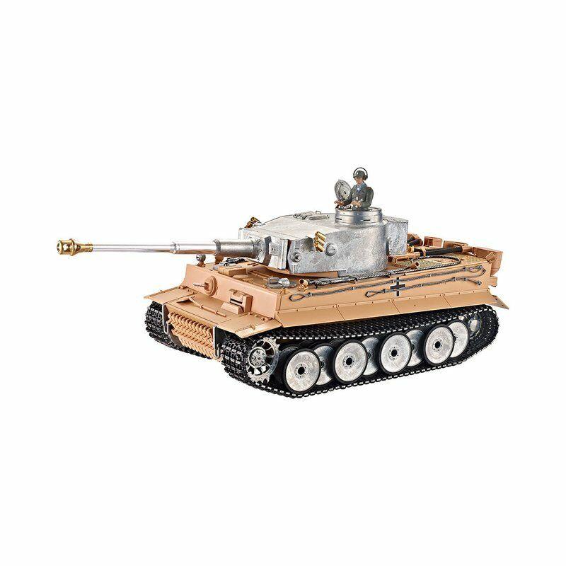 Torro 1 16 RC WW2 carri armati RC German RTR Metal Fumo & Pro SUONO Edition non dipinti