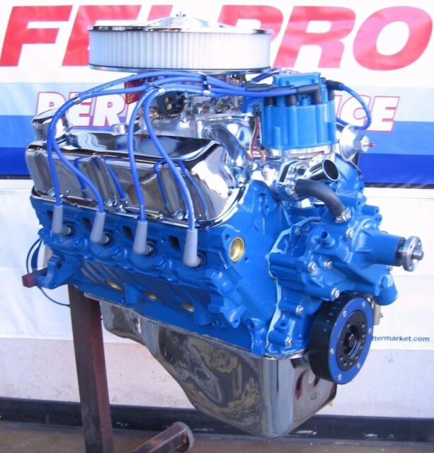 Used Small Block Ford Engines For Sale: Ford 351 Windsor 345 HP Turn Key High Performance Balanced