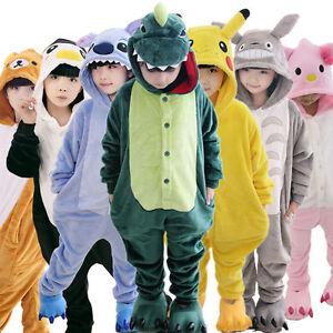 757fa433090e4 ... Deguisement-Doux-Animal-Pyjama-Combinaison-Enfant-Fille-Garcon-