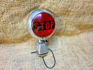 Vintage Original PMCo Accessory STOP LIGHT lamp car truck motorcycle gm chevy
