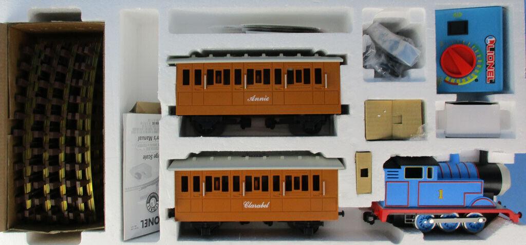 Lionel G Gauge Thomas Y Amigos falta 4 pistas de curva 3Pc Conjuntos de Tren  8-81027U
