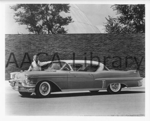 Factory Photo 1957 Cadillac Coupe de Ville Two Door Hardtop Ref. #30322