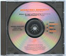 MONTREL DARRETT gospel advance promo 1999 CD MONTRELL 7 TRACKS