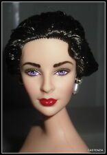 NUDE BARBIE CELEBRITY ELIZABETH TAYLOR FATHER OF THE BRIDE RAVEN DOLL FOR OOAK