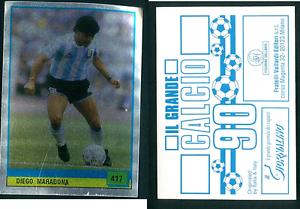 MARADONA-ARGENTINA-RARA-ITALIANO-EDIZIONE-1990-CALCIO-NUOVO-GRANDE-calcio-n-417