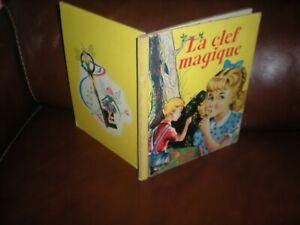 LES-ALBUMS-ROSES-LA-CLEF-MAGIQUE-EDITION-1954-SYLVIA-HOLLANDE