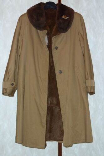 44 Impermeabile Pelliccia Made Interno 46 Sottozero Italy Cappotto In x0awqd0IE