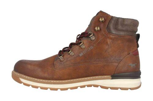 Mustang Shoes Boots in Übergrößen Braun 4141-501-301 große Herrenschuhe