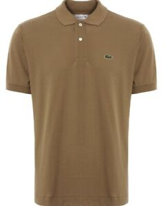 Lacoste-Polo-Shirt-Men-039-s-Classic-fit-in-Kraft-Fonce-RRP-80