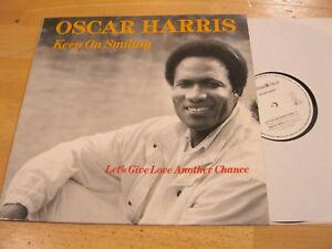 Maxi-Single-LP-Oscar-Harris-Keep-on-Smiling-Vinyl-577-0212-6BE-TITAN