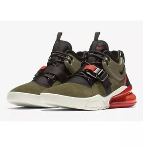 Details about Nike Air Force 270 Mens Size 8 Medium Olive Green Shoes AH6772 200 Orange