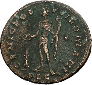 Severus-II-as-Caesar-305AD-Ancient-Roman-Coin-Genius-Protection-Wealth-i34703