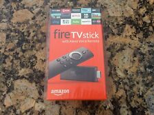 Amazon Fire TV Stick with Alexa Voice Remote Streaming Media! BRAND NEW! 2nd Gen