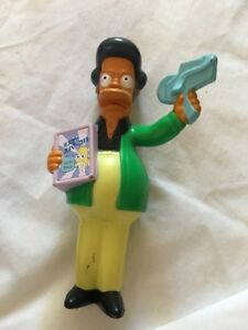 2007 The Simpsons Movie Burger King Kids Meal Toy Apu Cake Topper Ebay
