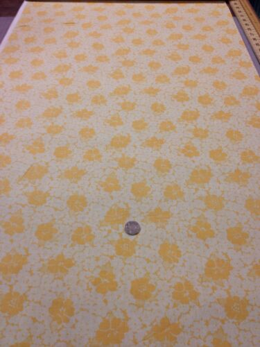 More Antique Treasures 100/% Cotton fabric Quilting Craft Yellow Floral
