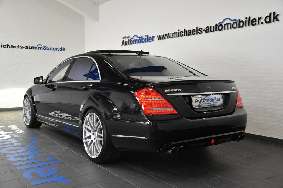 Mercedes S600 6,2 Brabus 800 aut. lang Benzin aut.
